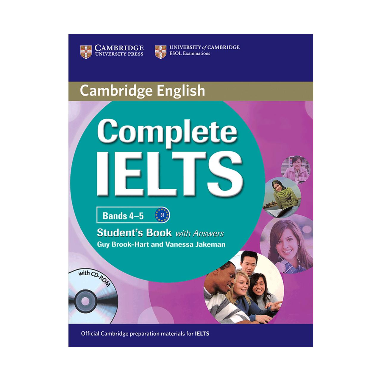 خرید                      کتاب زبان Cambridge English Complete IELTS Student Book B1 همراه با کتاب کار و CD انتشارات کمبریج