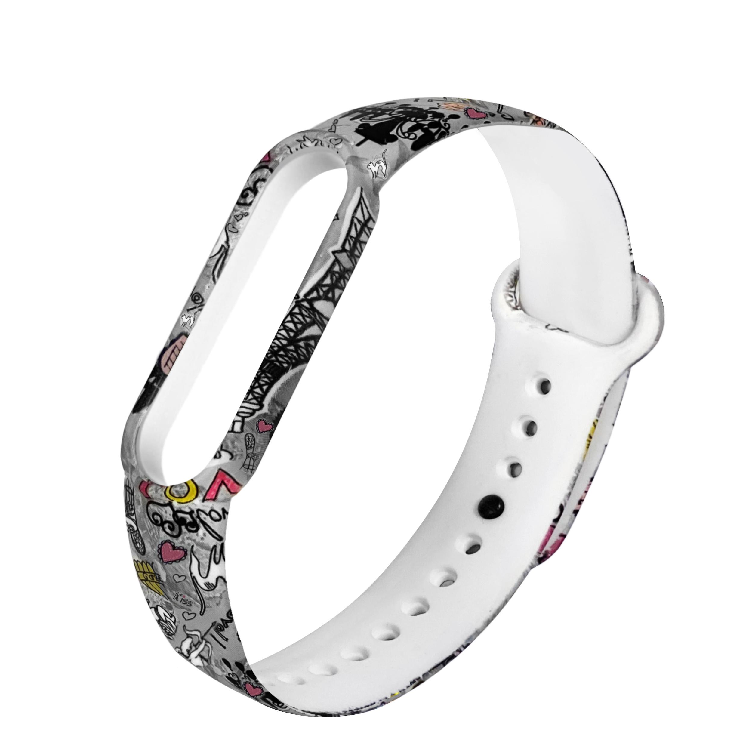 بند سومگ مدل SMG-Paris مناسب برای مچ بند هوشمند شیائومی mi band 5