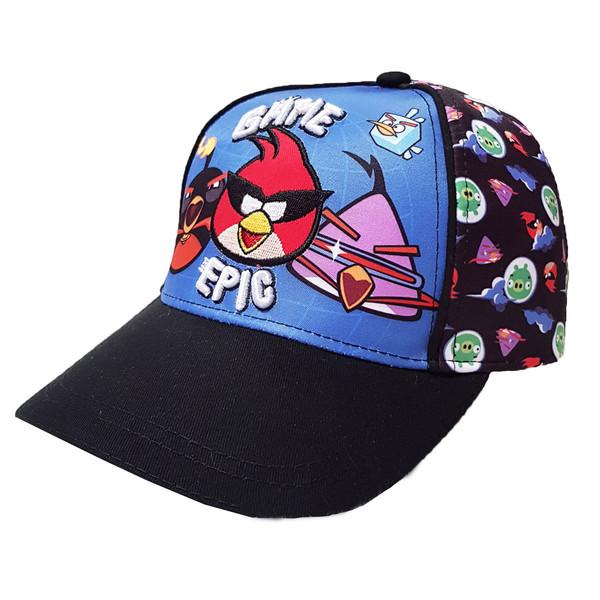 کلاه کپ بچگانه مدل پرندگان خشمگین