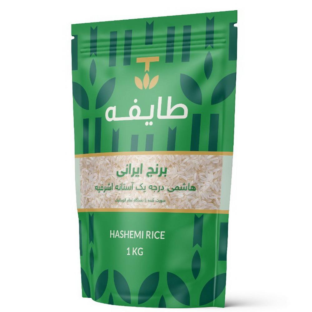 برنج هاشمی معطر درجه یک آستانه اشرفیه طایفه - 1 کیلوگرم