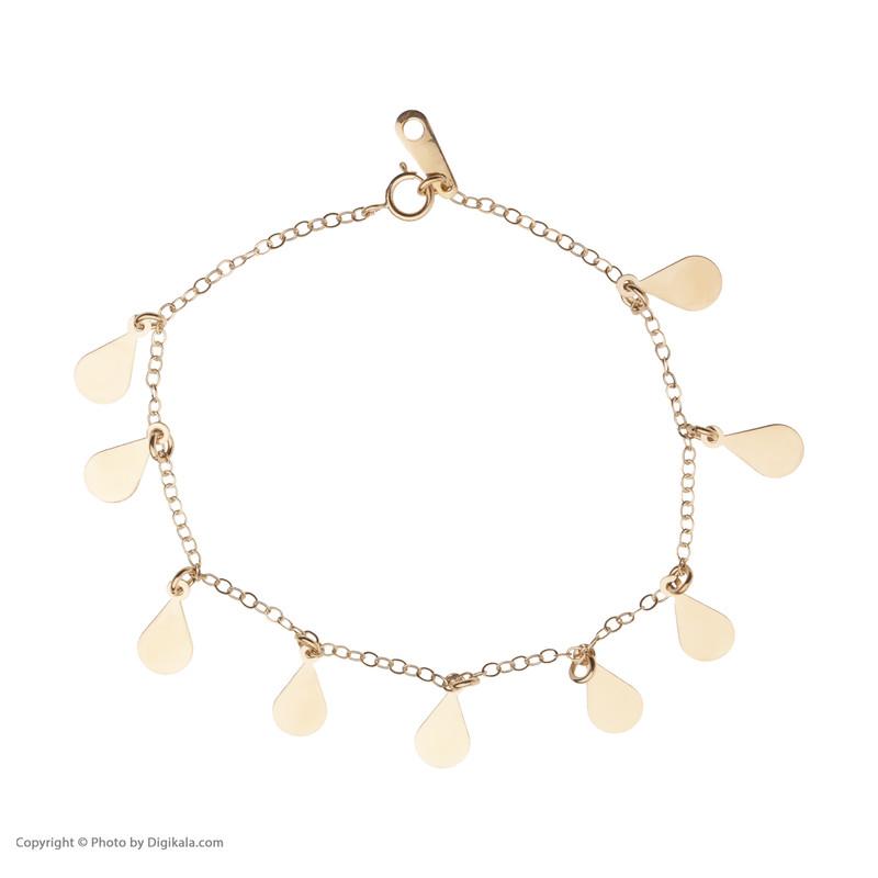 دستبند طلا 18 عیار زنانه مدیسا مدل B3003
