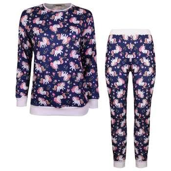 ست تی شرت و شلوار زنانه ماییلدا مدل 3587-9