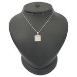 گردنبند نقره زنانه ترمه ۱ مدل فانتزی کد smed 1108