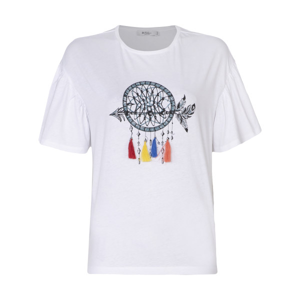 تی شرت زنانه کالینز مدل CL1033130-WHITE