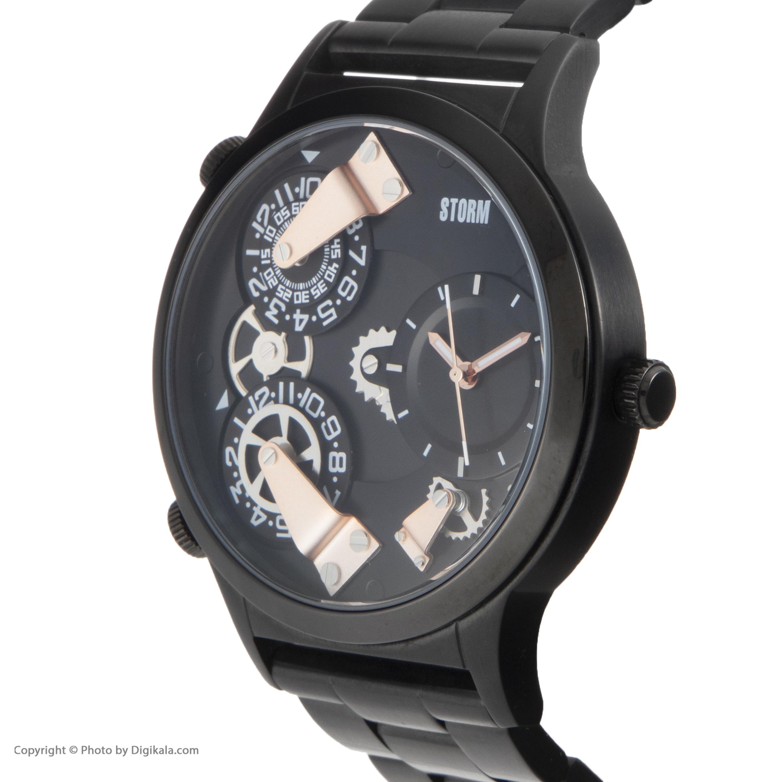 ساعت مچی عقربه ای مردانه استورم مدل ST 47202-SL              ارزان
