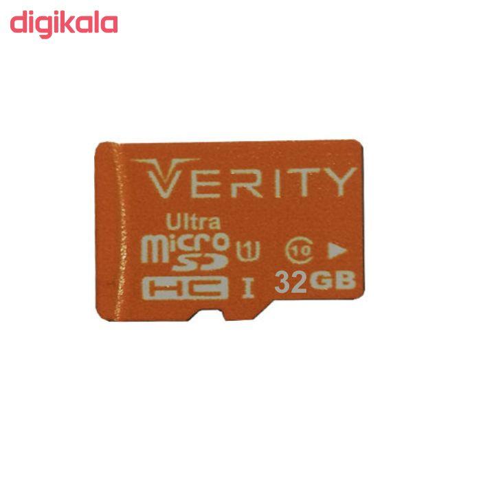 کارت حافظه microSDHC وریتی مدل Ultra 633X کلاس 10 استاندارد UHS-I U1 سرعت 95MBps ظرفیت 32 main 1 1