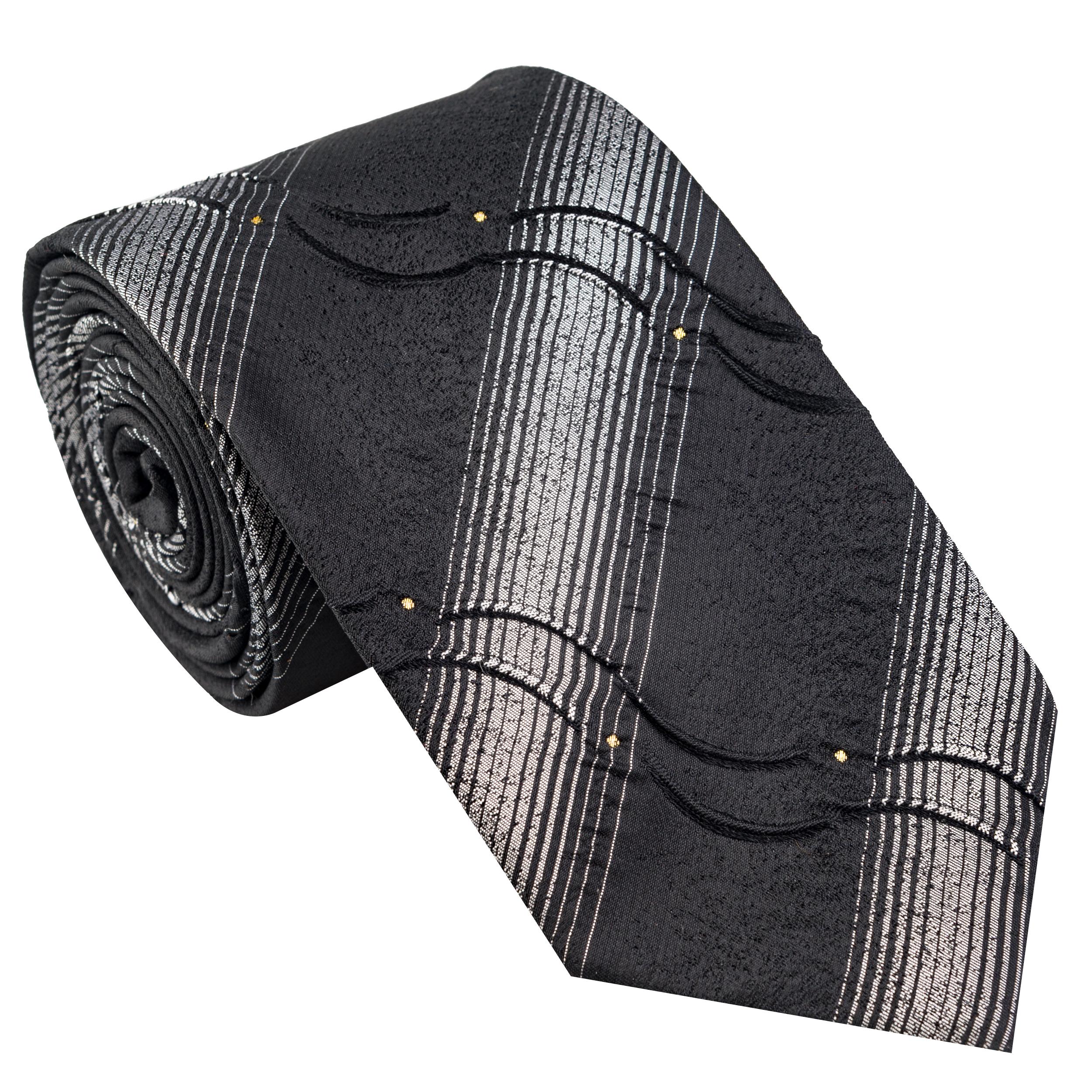 کراوات مردانه جیان فرانکو روسی مدل GF-ST534-BK
