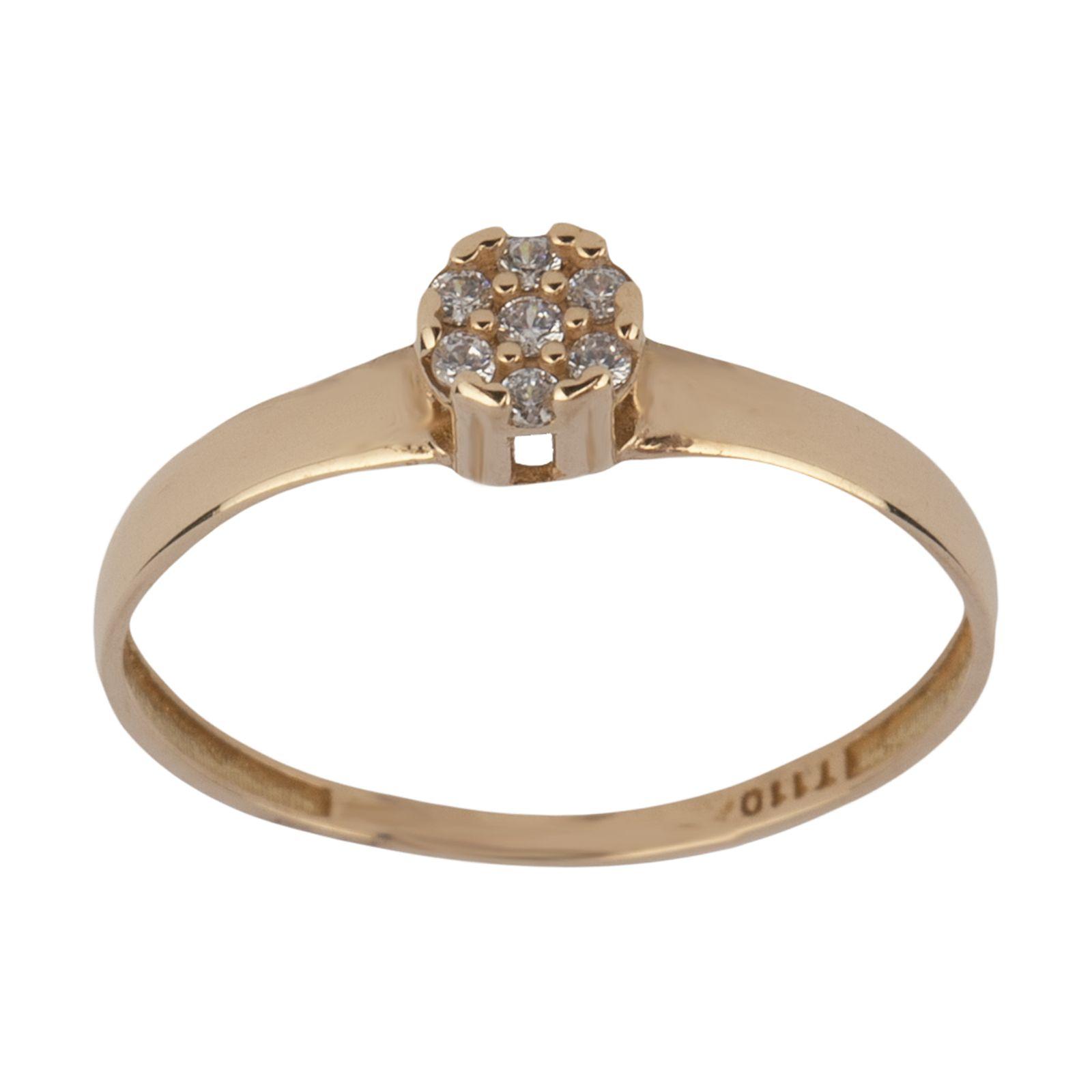 انگشتر طلا 18 عیار زنانه نیوانی مدل NR031 -  - 2