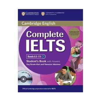 کتاب زبان Cambridge English Complete Ielts C1 همراه با کتاب کار و CD انتشارات کمبریج