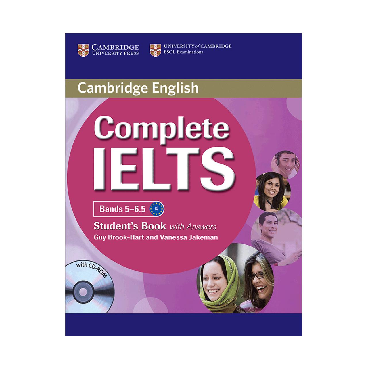 خرید                      کتاب زبان Cambridge English Complete IELTS Student Book B2 همراه با کتاب کار و CD انتشارات کمبریج