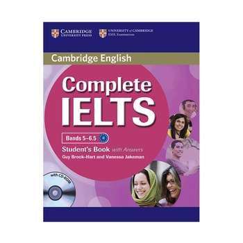 کتاب زبان Cambridge English Complete IELTS Student Book B2 همراه با کتاب کار و CD انتشارات کمبریج