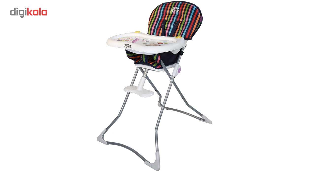 صندلی غذاخوری دلیجان مدل Stripe main 1 1