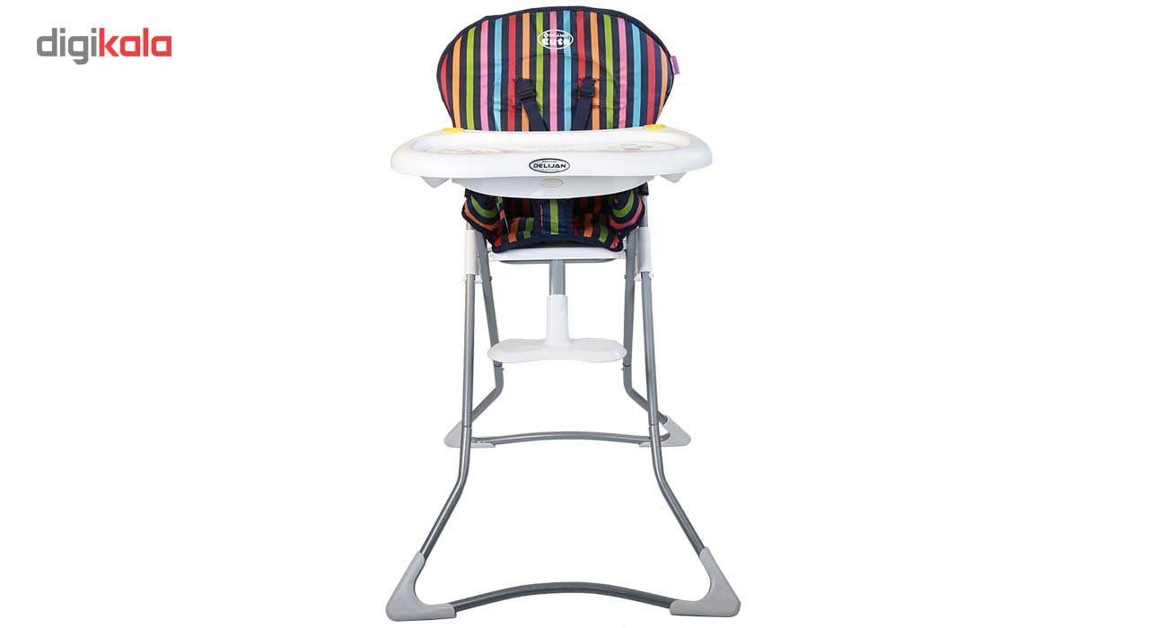صندلی غذاخوری دلیجان مدل Stripe main 1 2