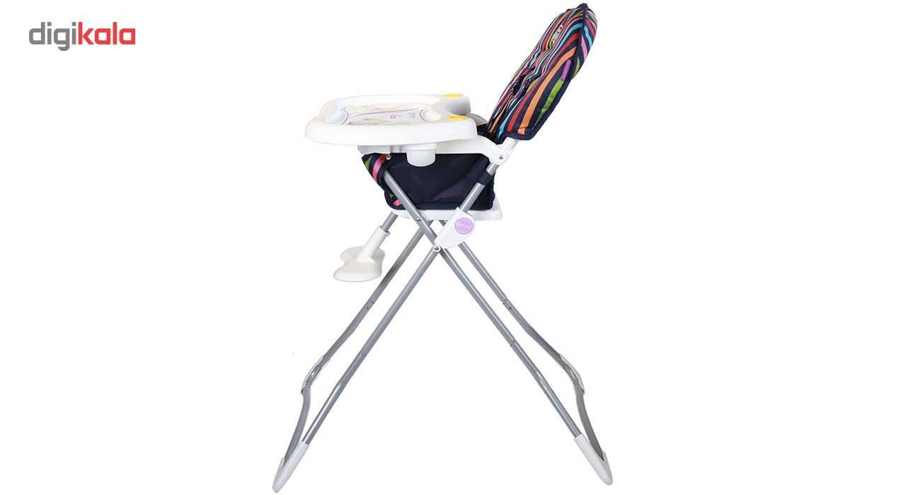 صندلی غذاخوری دلیجان مدل Stripe main 1 3