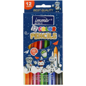 مداد رنگی 12 رنگ ایمر مدل JM760-12