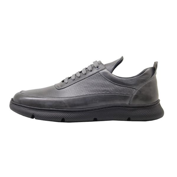 کفش روزمره مردانه چرم آرا مدل sh017 کد t