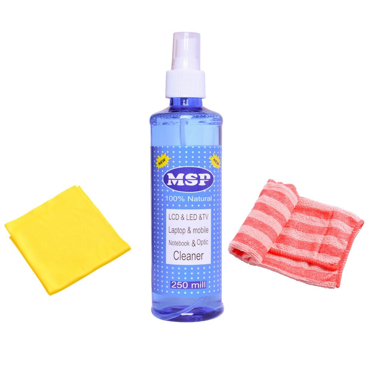 کیت تمیز کننده LCD مدل MSP |