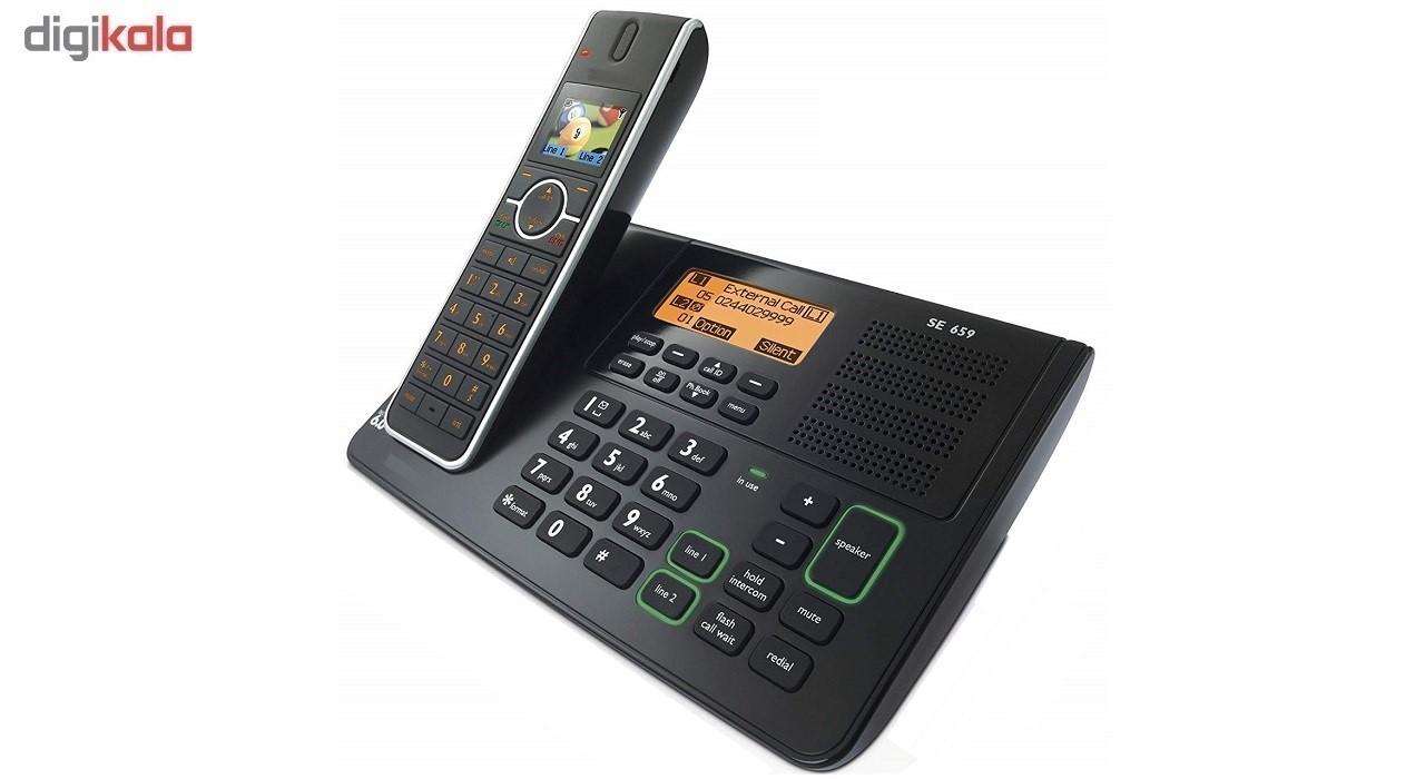 تلفن بی سیم دوخط مدل SE6591B