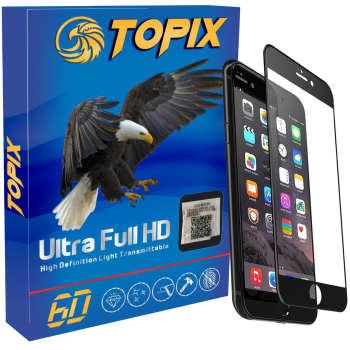 محافظ صفحه نمایش تاپیکس مدل Super Hard مناسب برای اپل iPhone 7 plus/ 8 plus