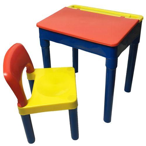 میز و صندلی تحریر کودک الوند پلاستیک مدل پویا
