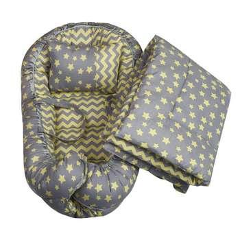سرویس 3 تکه خواب نوزادی الی بیبی مدل ستاره طلایی