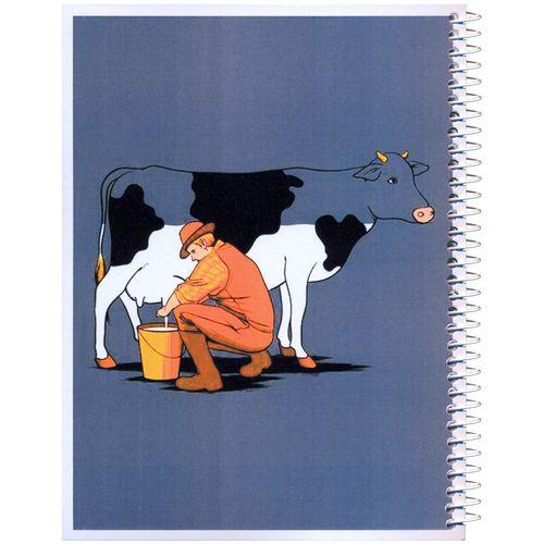 دفترچه یادداشت مدل کژوال طرح گاوچران