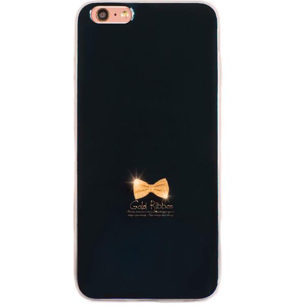 کاورژله ای مدل Gold Ribbonمناسب برای گوشی موبایل آیفون 6plus