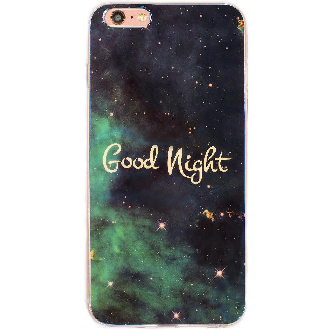 کاورژله ای مدلGood Nightمناسب برای گوشی موبایل آیفون 6/6s