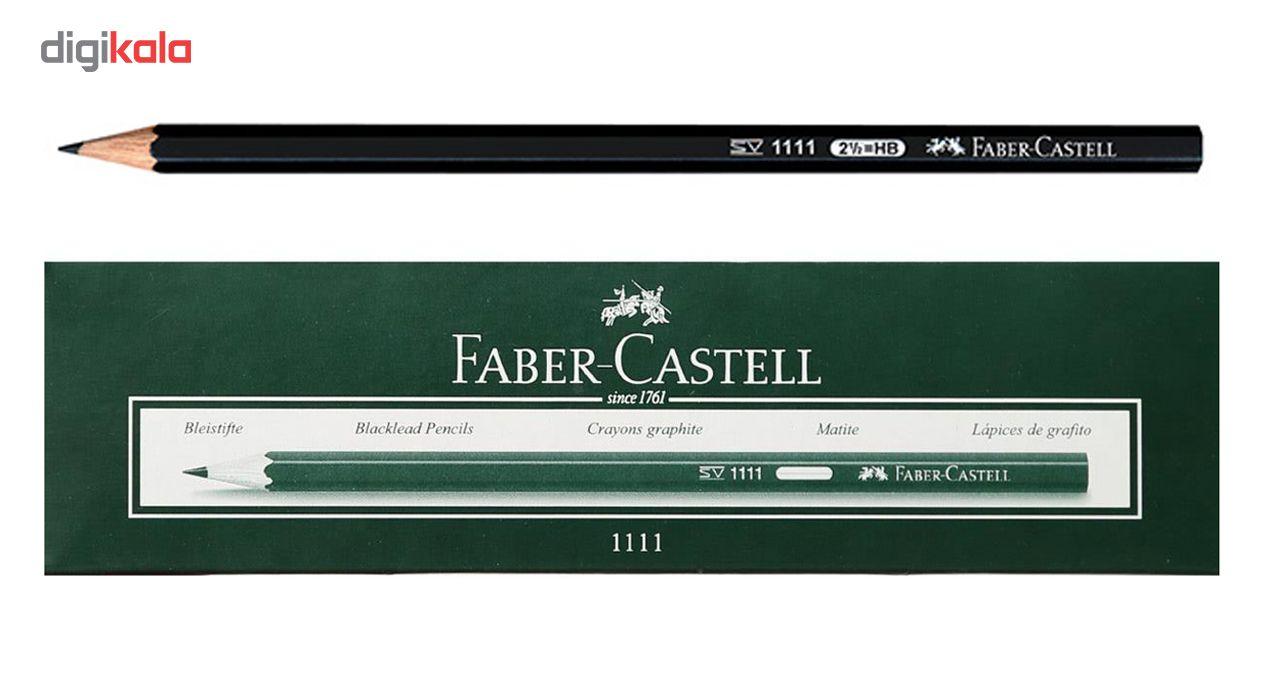 مداد مشکی فابر کاستل کد 1111 بسته 12 عددی main 1 1