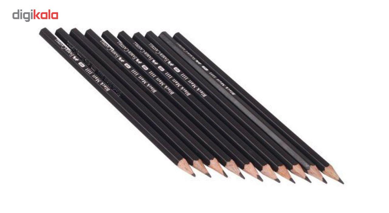 مداد مشکی فابر کاستل کد 1111 بسته 12 عددی main 1 3