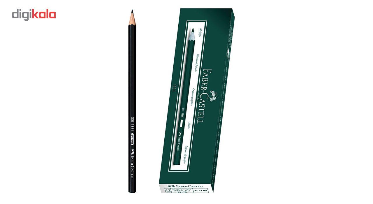 مداد مشکی فابر کاستل کد 1111 بسته 12 عددی main 1 8