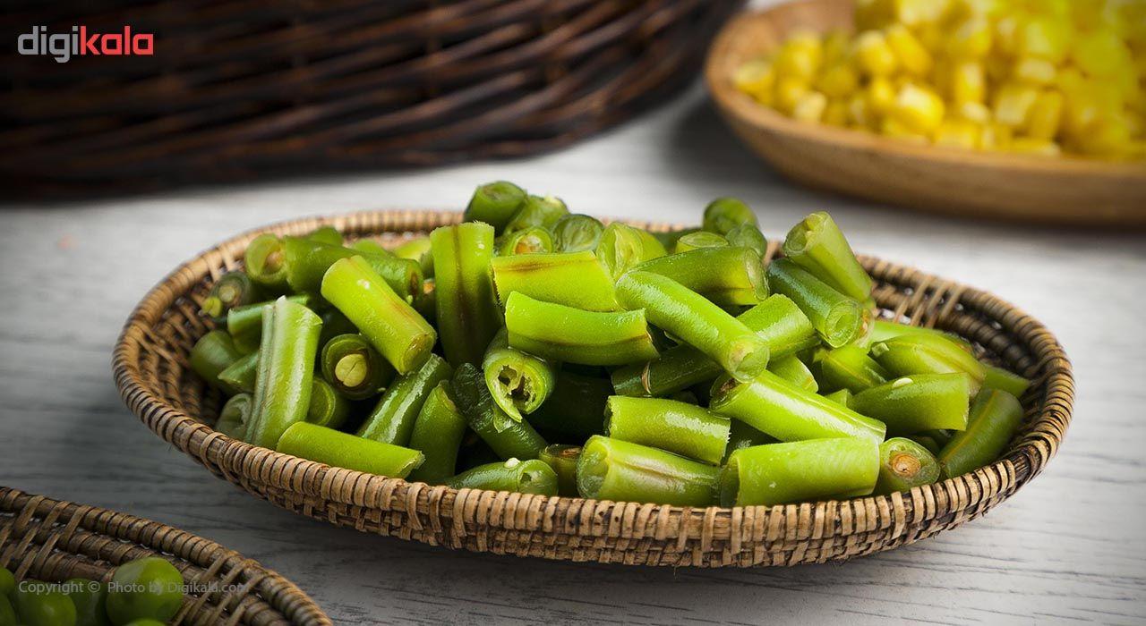 لوبیا سبز منجمد سرد و تازه مقدار 400 گرم main 1 7