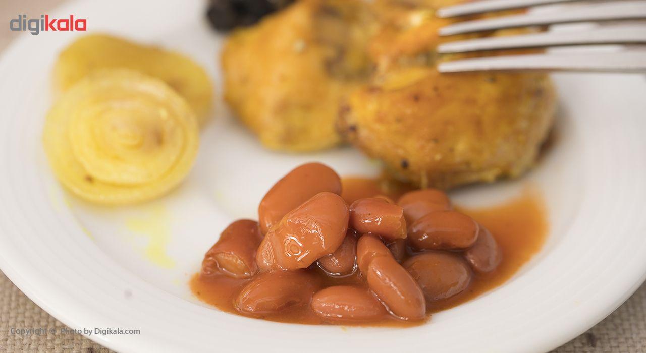 کنسرو لوبیا چیتی در سس گوجه فرنگی اصالت - 380 گرم main 1 1