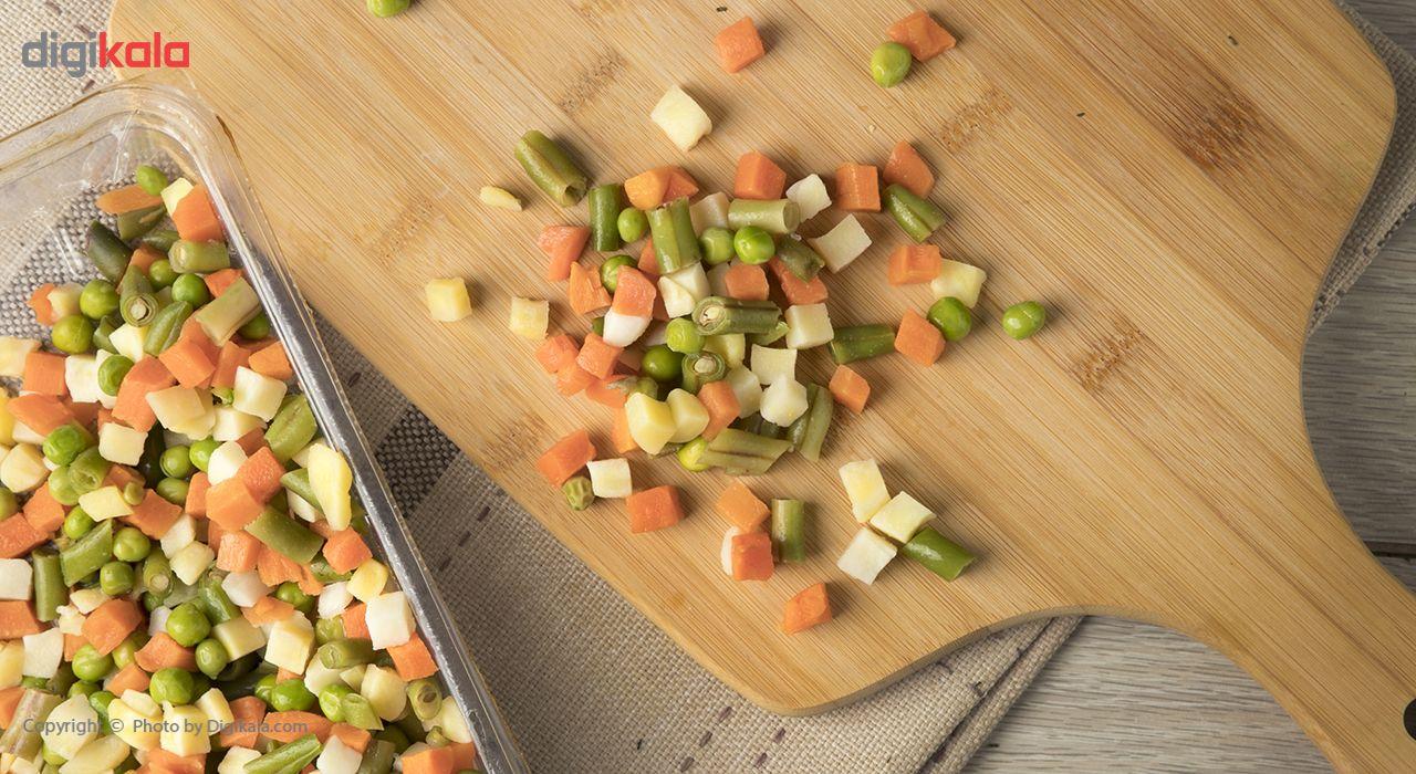کوکتل سبزیجات منجمد سرد و تازه مقدار 450 گرم main 1 1