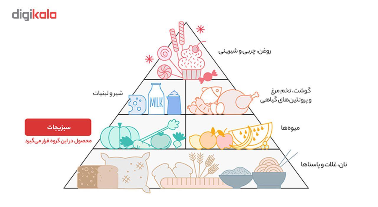 خوراک لوبیا چیتی با قارچ در سس گوجه فرنگی اصالت - 380 گرم main 1 6