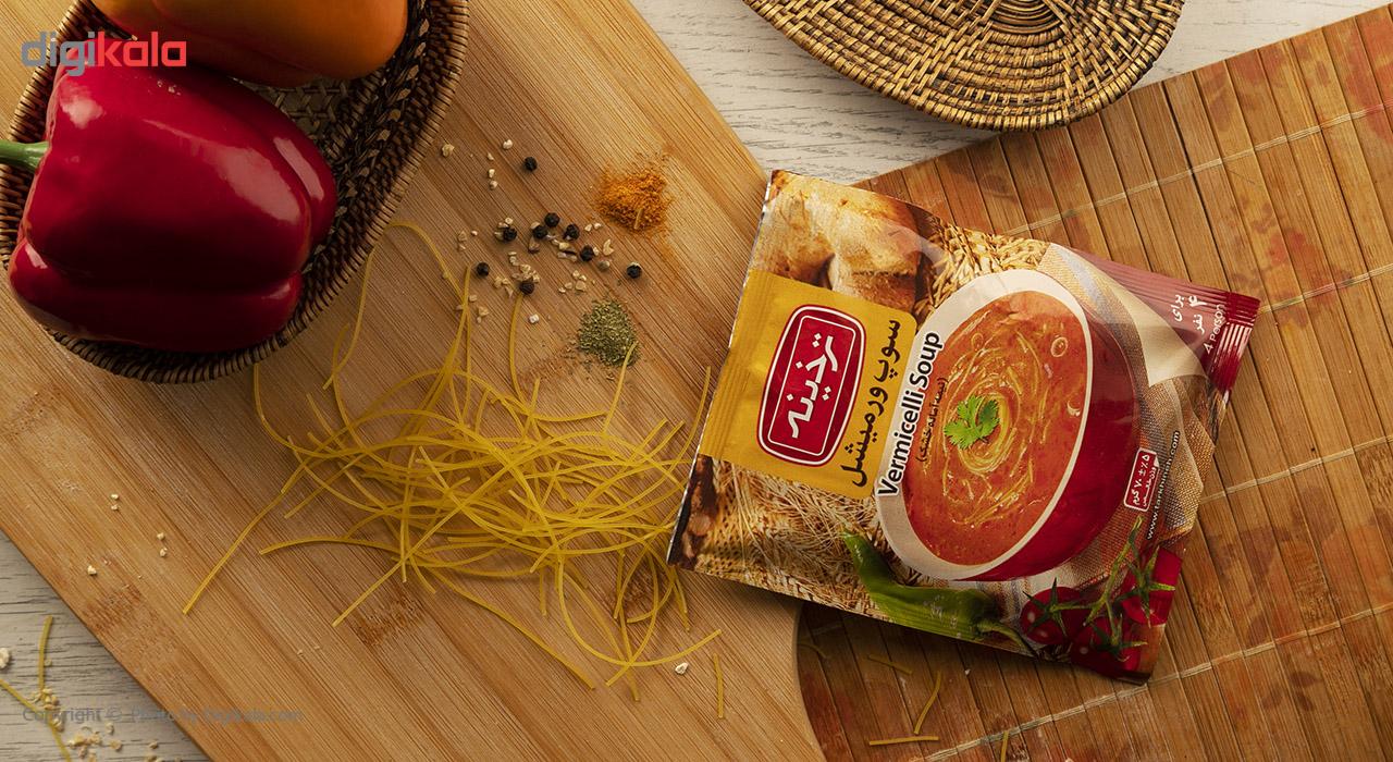 سوپ ورمیشل ترخینه مقدار 70 گرم