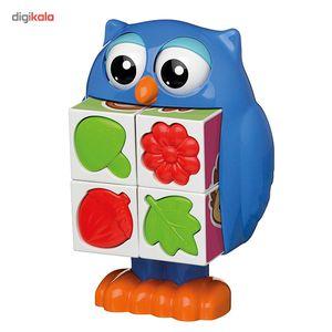 اسباب بازی تامی مدل پازل دوست داشتنی آقای جغد  Tomy Mr. Owl Puzzle Pop Baby Toys