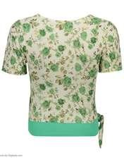 ست تی شرت و شلوارک زنانه کد 004 -  - 5