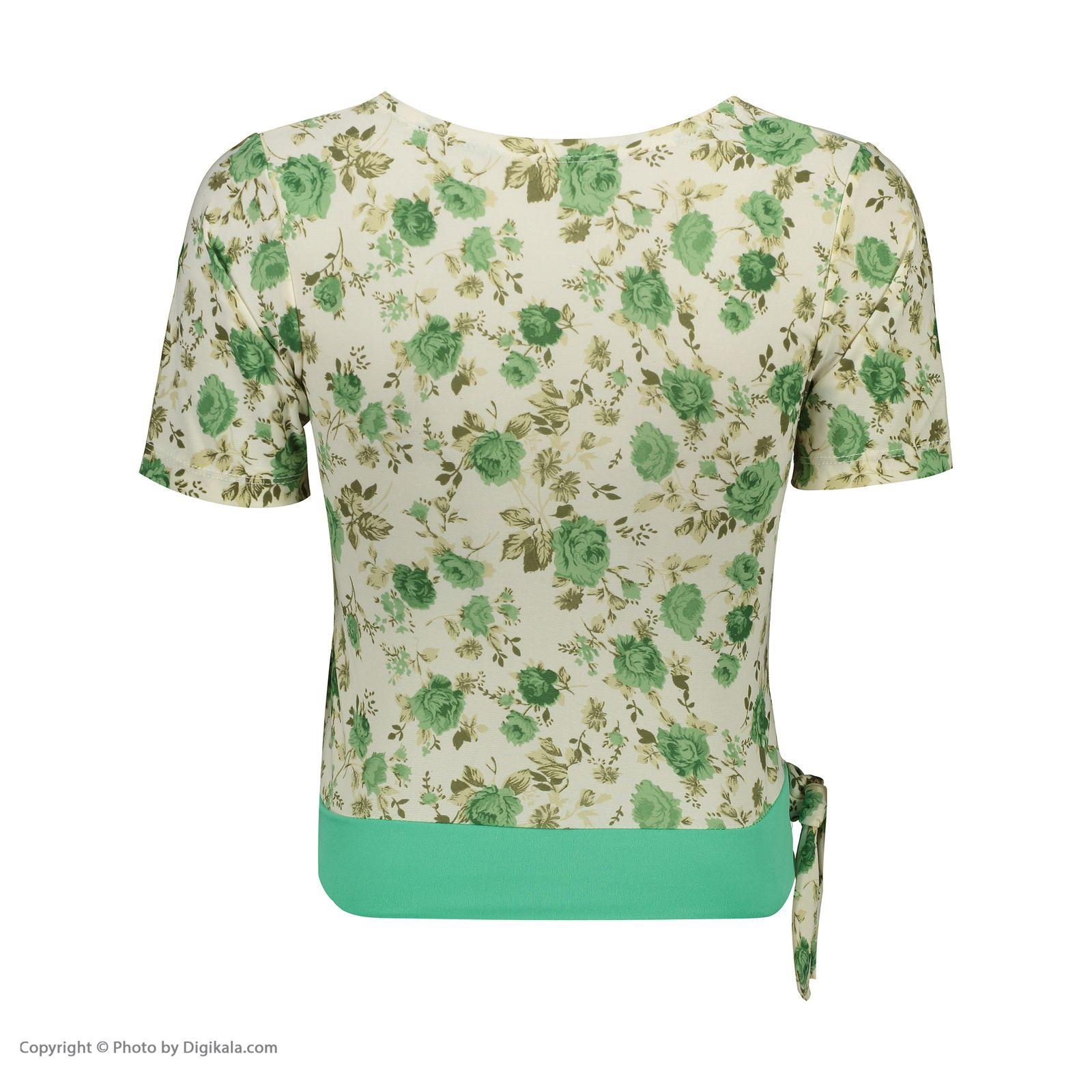 ست تی شرت و شلوارک زنانه کد 004 -  - 6