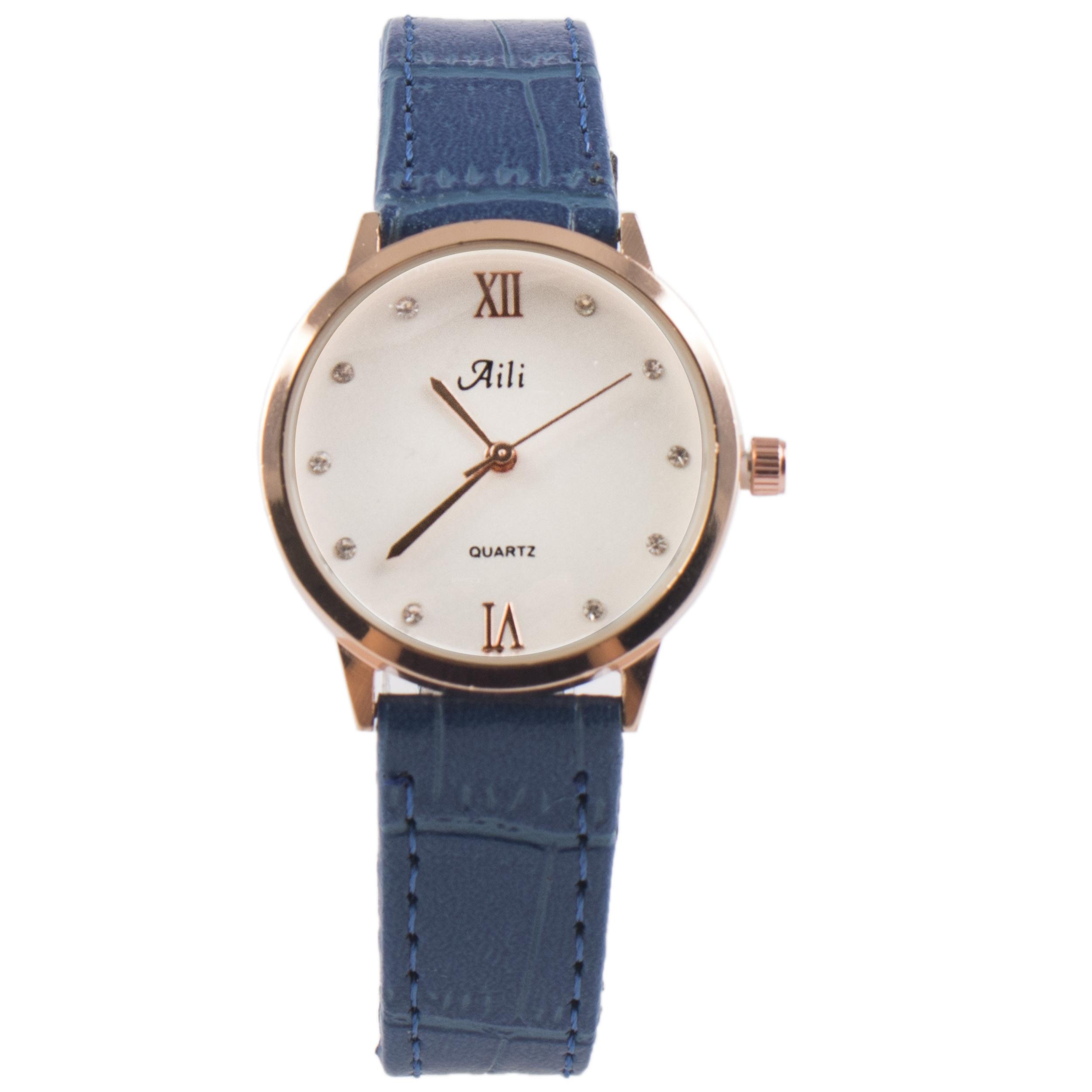 خرید ساعت مچی عقربه ای زنانه آيلي مدل SW002