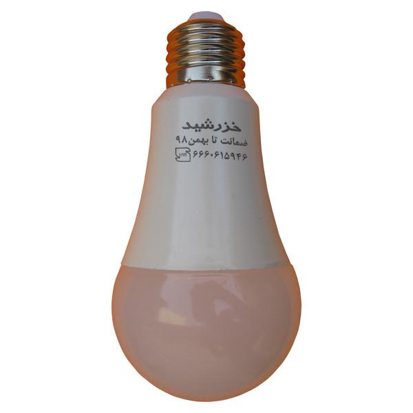 لامپ ال ای دی 12 وات خزرشید پایه E27 مدل kh1