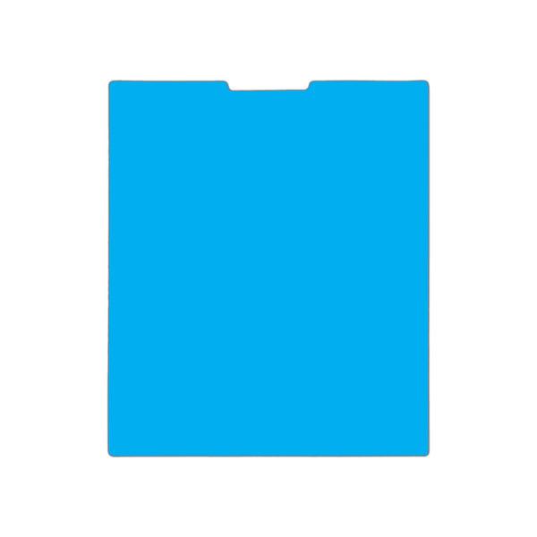 محافظ صفحه نمایش مدل نانو گلس مناسب برای گوشی موبایل بلک بری Pasport