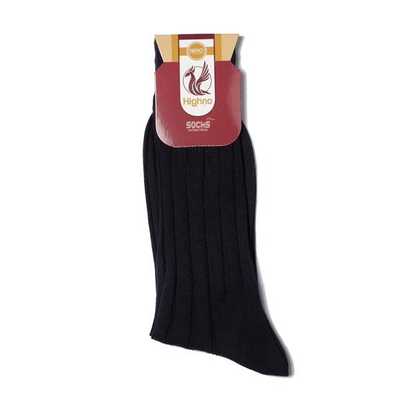 جوراب مردانه نانو آنتی باکتریال هاینو مدل 02-1082