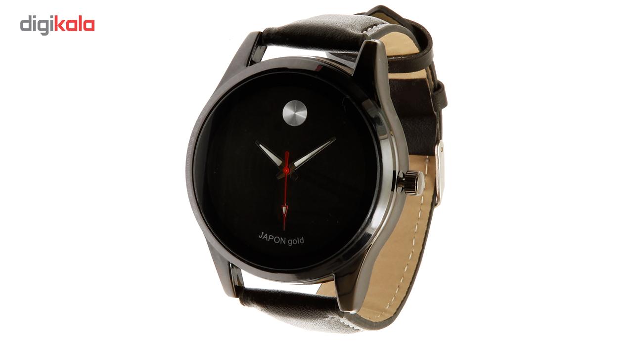خرید ساعت مچی عقربهای مردانه ژاپن گلد مدل 7300-55040