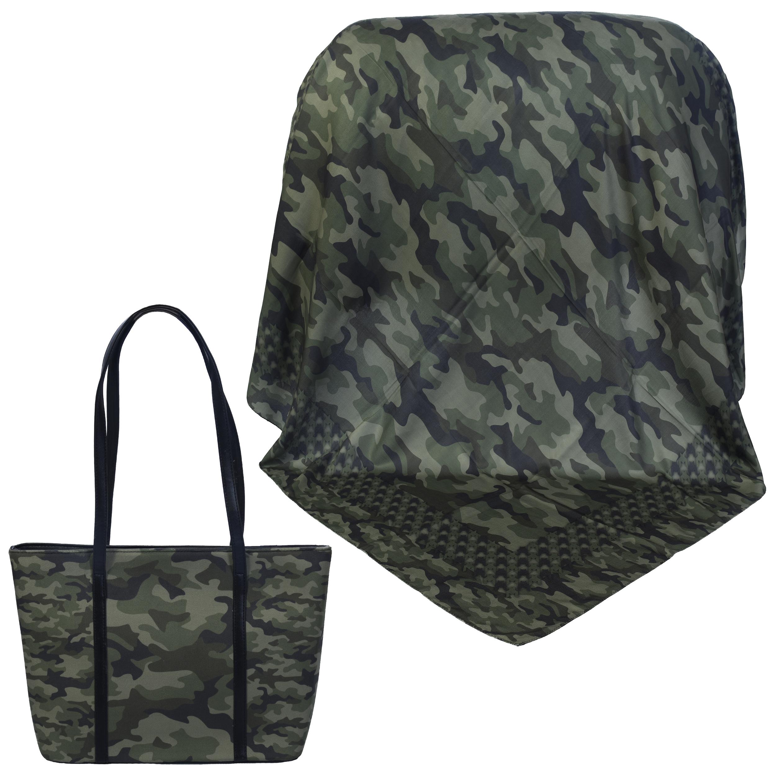 ست کیف و روسری زنانه کد 980907-T1