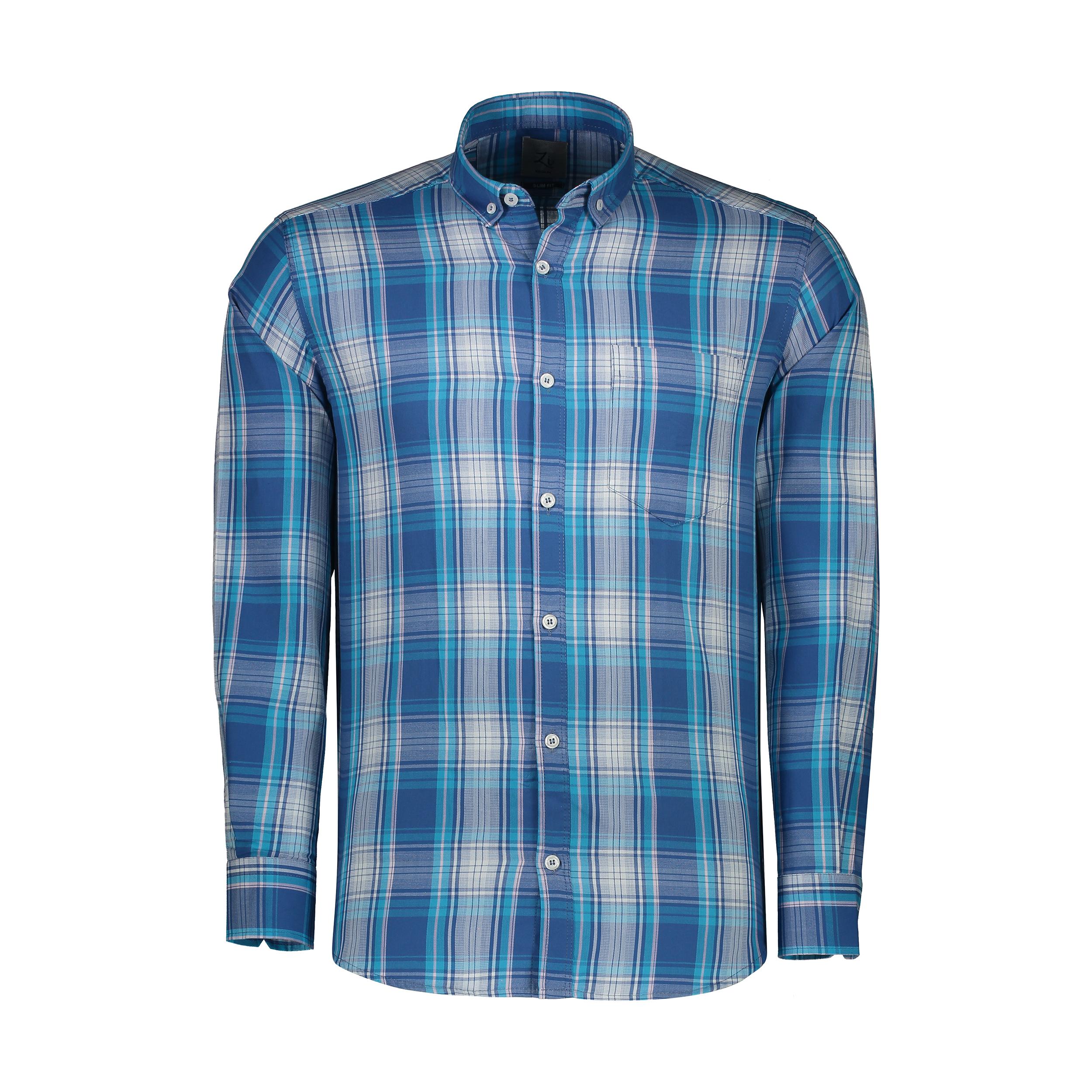 پیراهن آستین بلند مردانه زی مدل 1531350MC