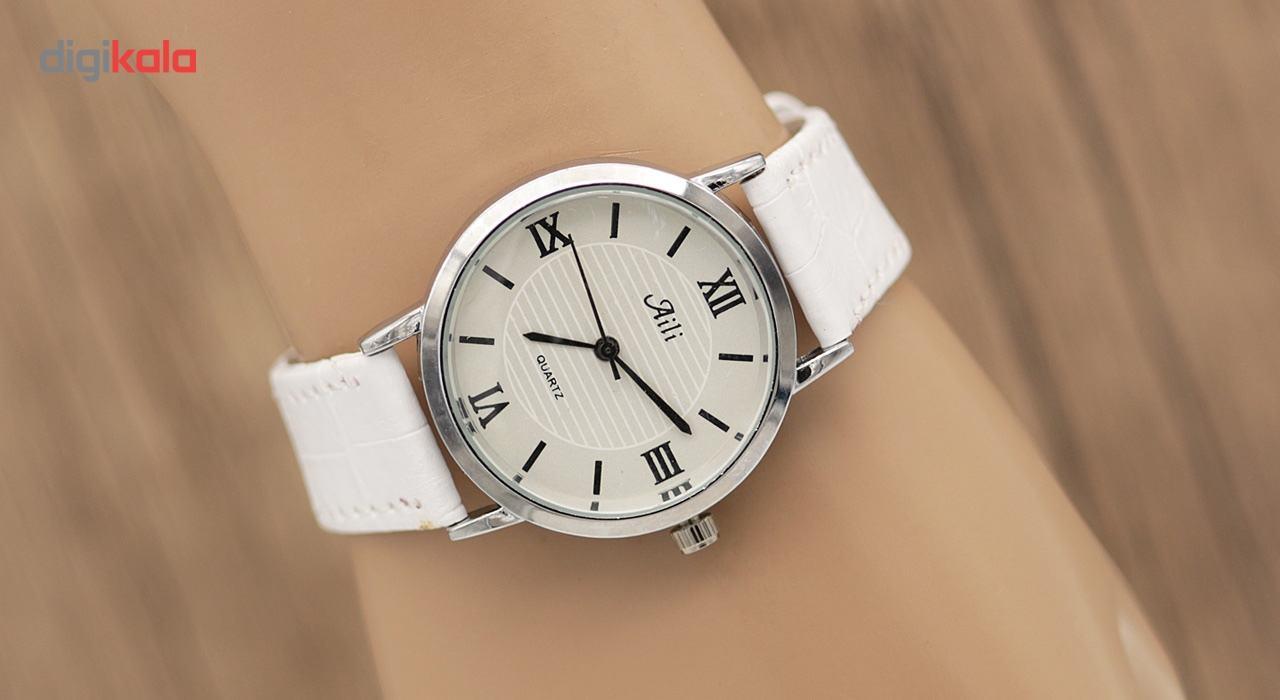 ساعت مچی عقربه ای مردانه آيلي مدل SW303
