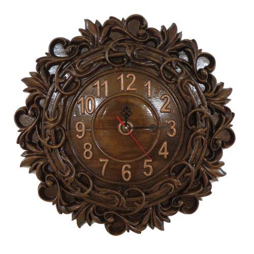 ساعت دیواری چوبی کد1008