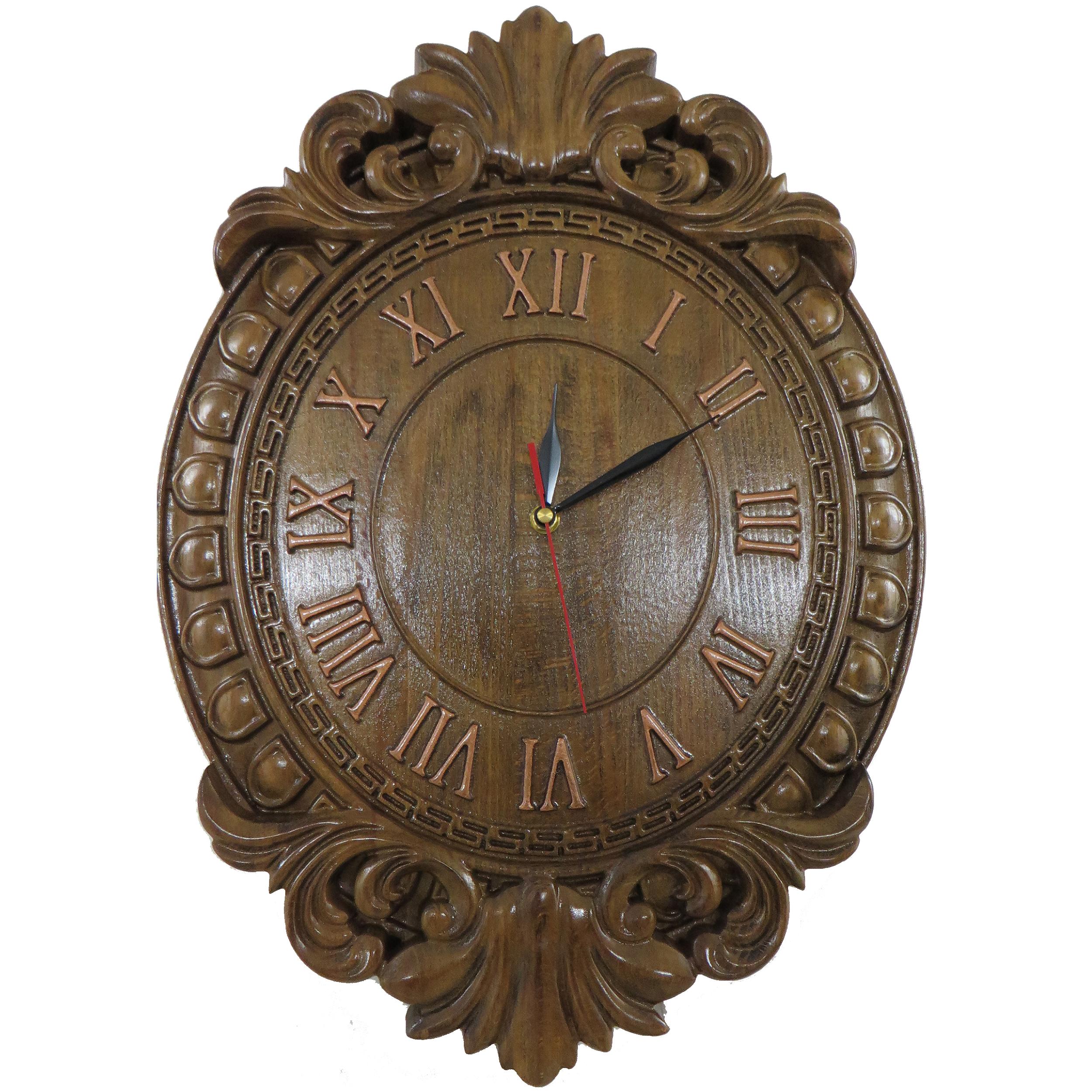 ساعت دیواری چوبی کد1005