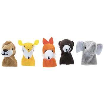 عروسک انگشتی پرشین صبا مدل Forest Animals بسته 5 عددی